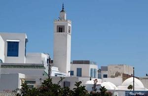 Le village et le minaret de Sidi Bou Saïd