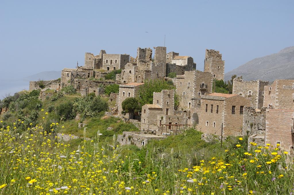Village du Magne Grèce