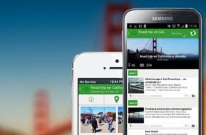 Carnet de voyage apps