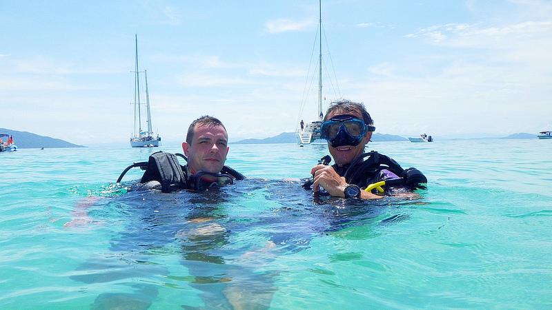 rencontre plongée sous marine