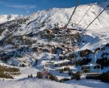 Val-D'isère la station entre Savoie et Rhône-Alpes