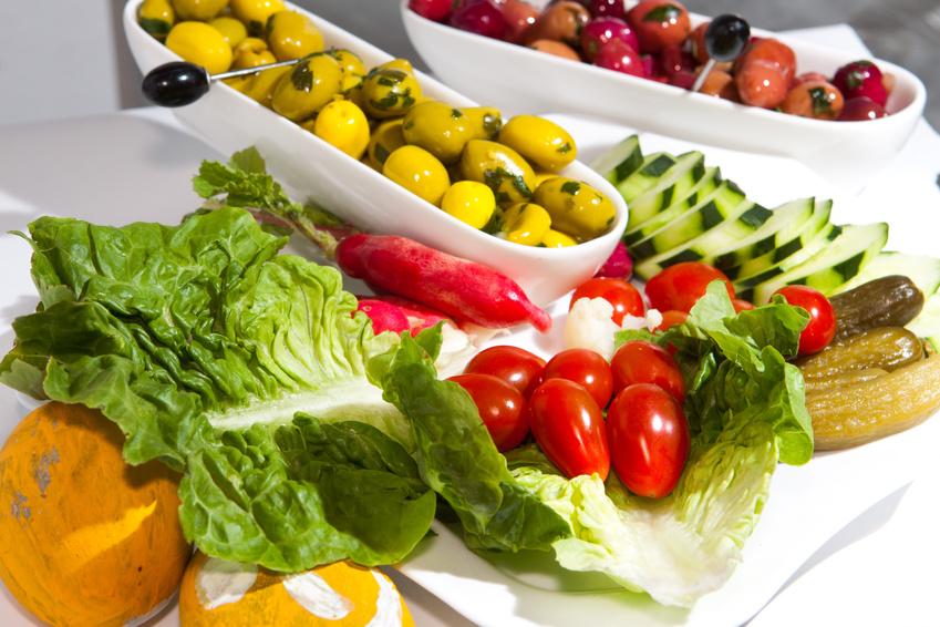 Salade et olives B