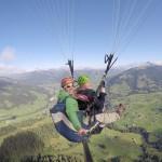 Visite de la Suisse Romande en parapente