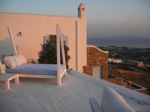 Une villa romantique à Mykonos, Grèce