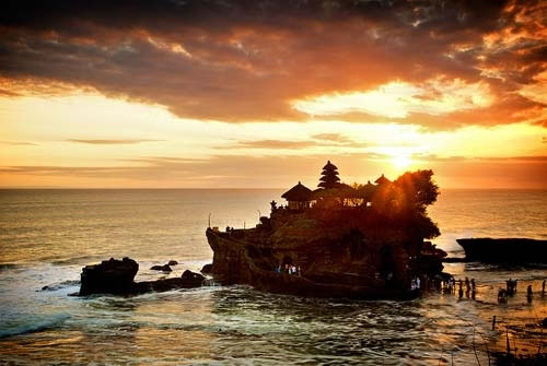 tanahlot-sunset