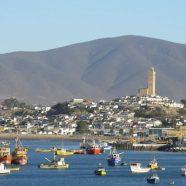 Juste au nord du Chili…