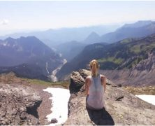 Voyages aux États-Unis:  La monté du Mont Rainier