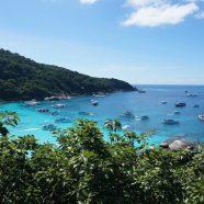 Plonger en Thaïlande; découvrez les îles de la Mer d'Andaman