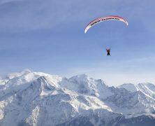 Découverte : le parapente dans les Alpes