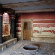 Le palais de knossos, une des merveilles de la crete