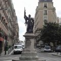 Statue Jeanne d'Arc Paris 13