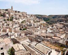 Partir à la découverte de la ville de Matera en Italie