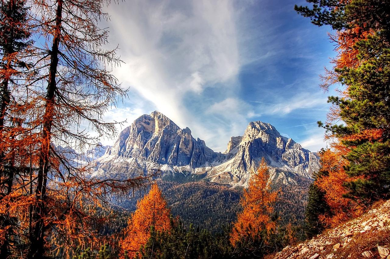 dolomites montagnes nature paysage
