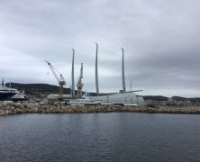 Que font les yachts en hiver sur la Côte d'Azur?