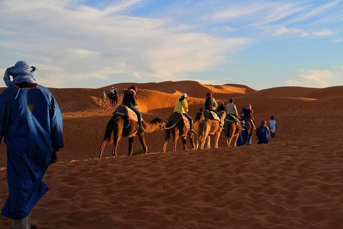 déserts à visiter Maroc