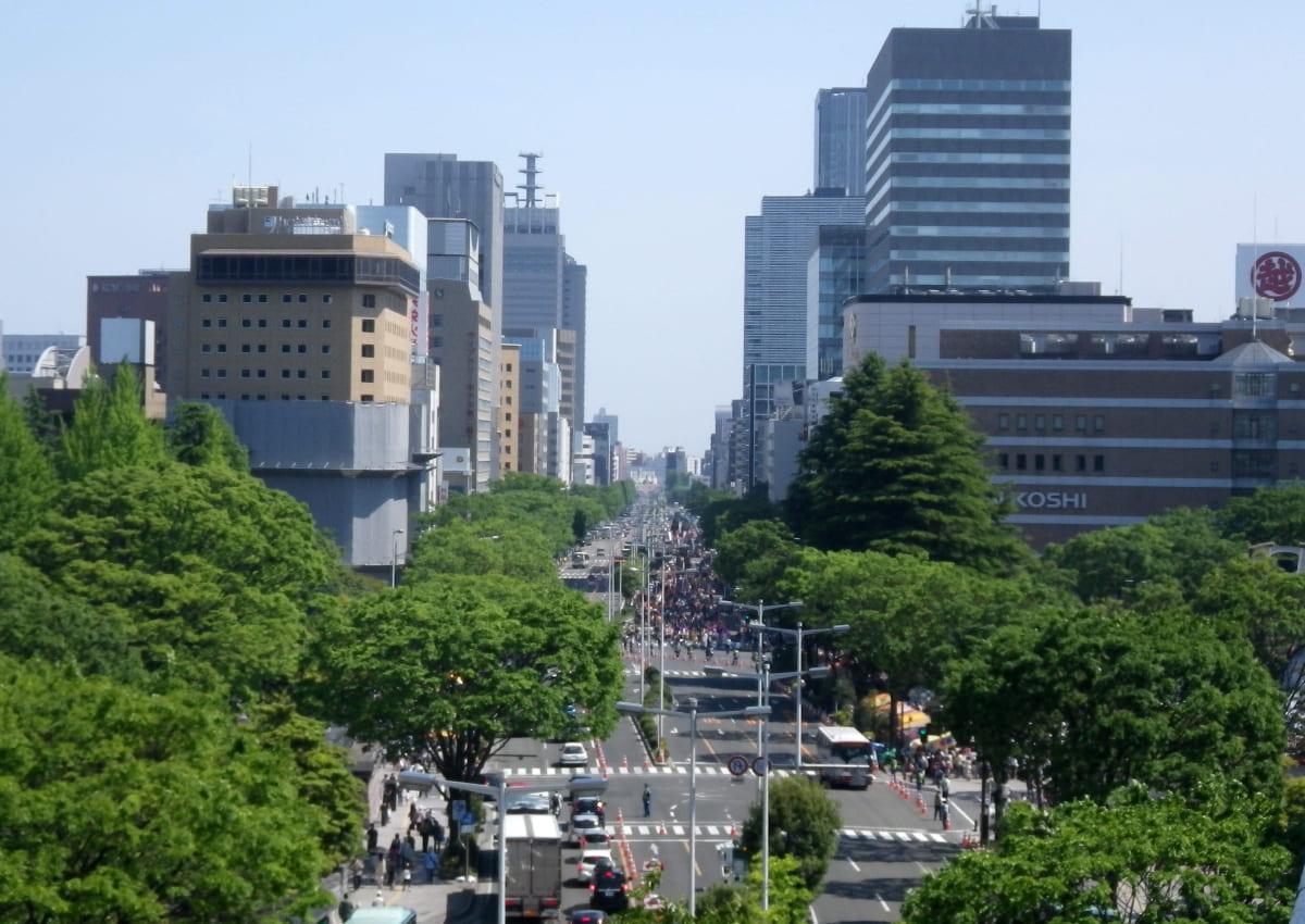 rue principale de Sendai